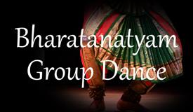 バラタナティヤム群舞